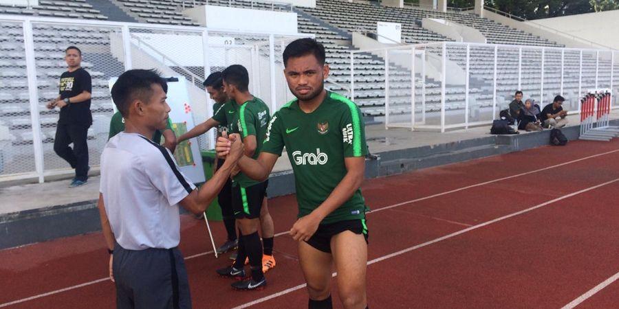 Saddil Ramdani Datang dan Langsung Gabung Latihan Timnas U-23 Indonesia