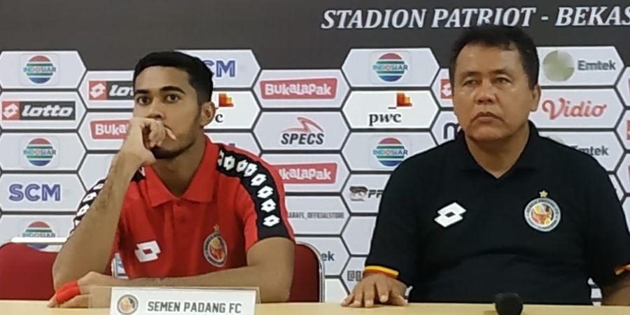 Kalah Dalam Tiga Laga Liga 1 2019, Pelatih Semen Padang Siap Dipecat