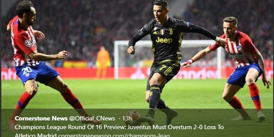 Inter Milan Vs Juventus - Duel Legendaris Ronaldo dan Diego Godin