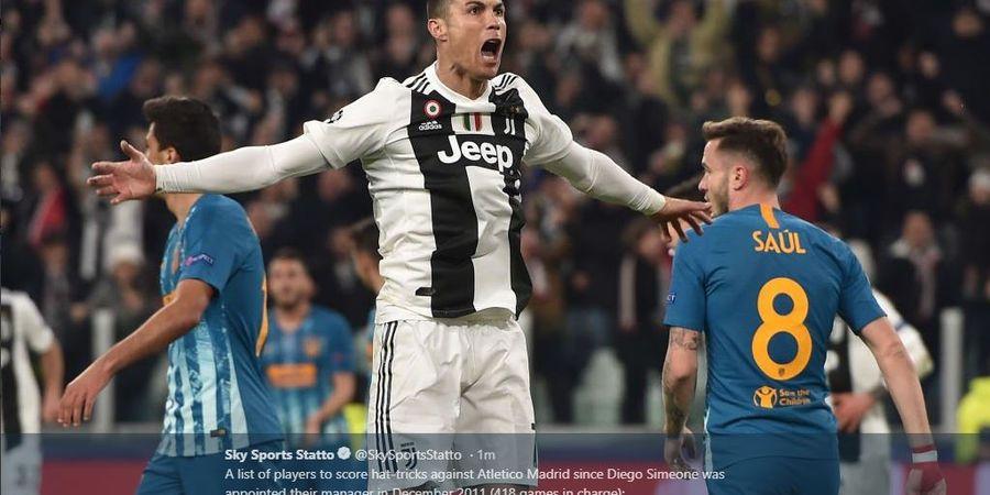 Cristiano Ronaldo Punya Lompatan Pemain Basket dan Leher Seorang Petinju