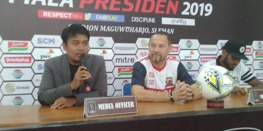 Madura United dan Borneo FC Bermain Imbang di Babak Pertama