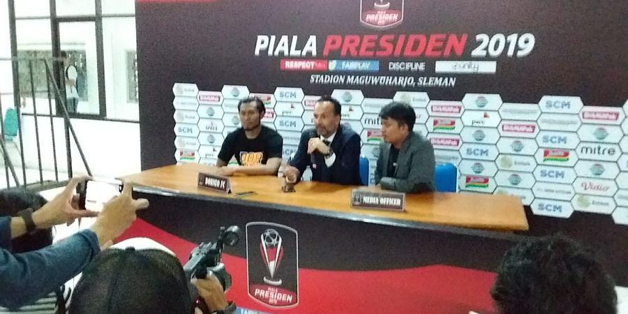 Kalah dari Madura United, Pelatih Borneo FC: Ini Hasil Normal