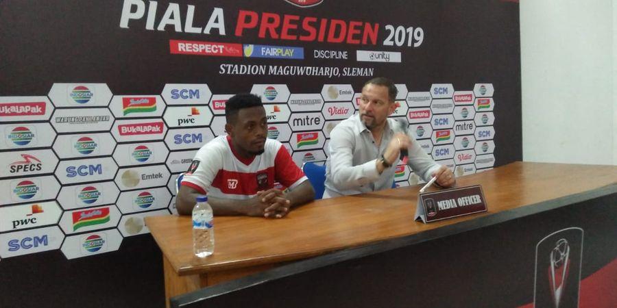 Tekad Besar David Laly untuk Madura United pada Piala Presiden 2019