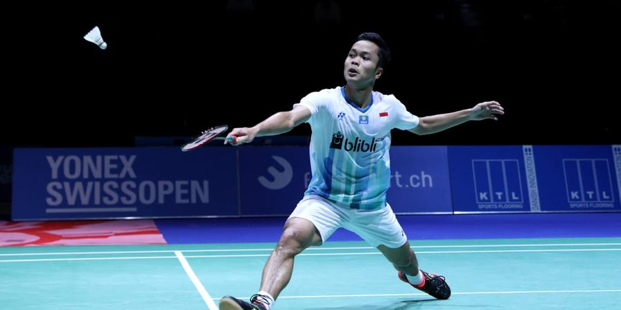 Hasil Malaysia Open 2019 - Anthony Ginting Pulang
