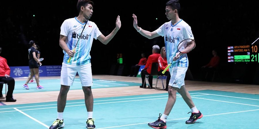 Kejuaraan Beregu Campuran Asia 2019 - Fajar/Rian Jadi Pembuka Laga Kontra Thailand