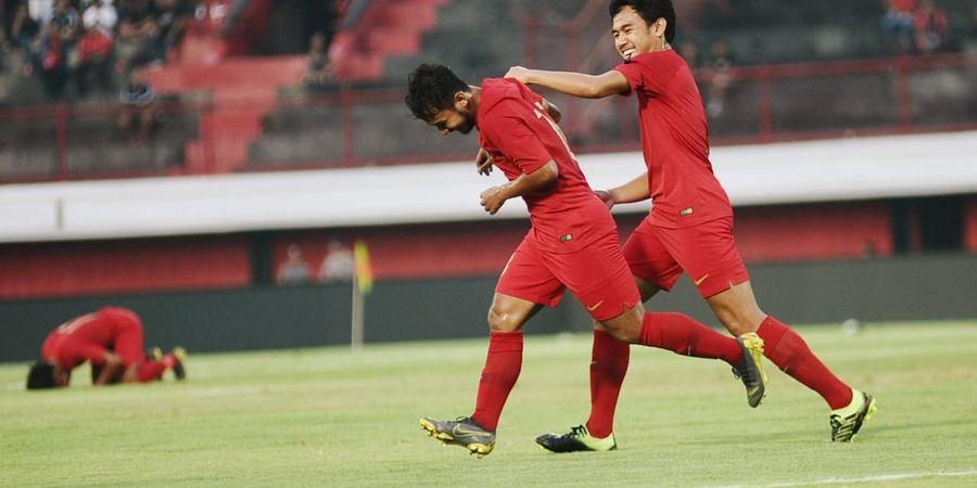 Timnas U-23 Indonesia Ungguli Bali United di Babak Pertama