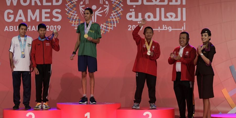 Indonesia Raih Emas Pertama pada Special Olympics World Games 2019