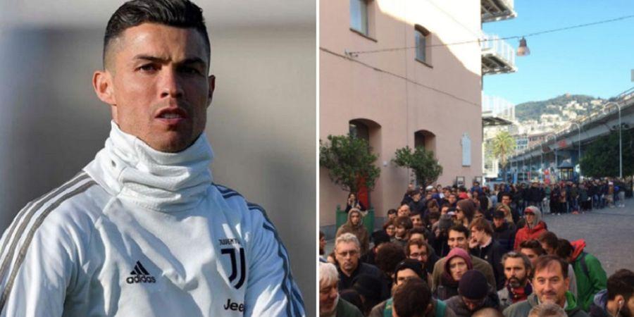 Fans Juventus Marah, Tuntut Refund karena Cristiano Ronaldo Tak Main
