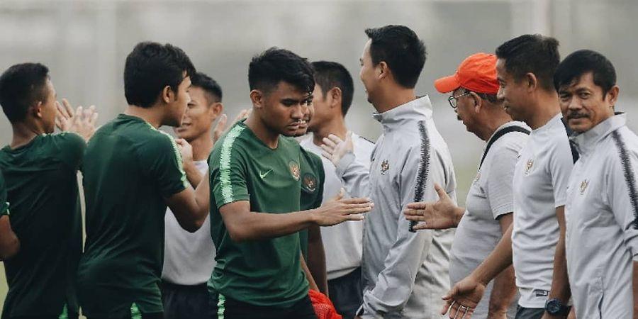 Daftar 22 Pemain Timnas U-23 Indonesia Besutan Indra Sjafri di Merlion Cup 2019