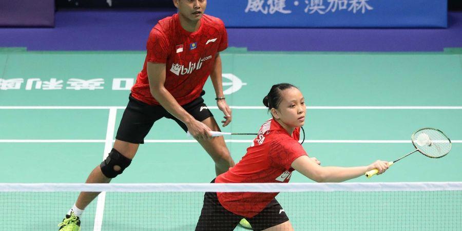 Hasil Kejuaraan Beregu Campuran Asia 2019 - Tontowi/Winny Tutup Kemenangan Indonesia 4-1 atas Thailand