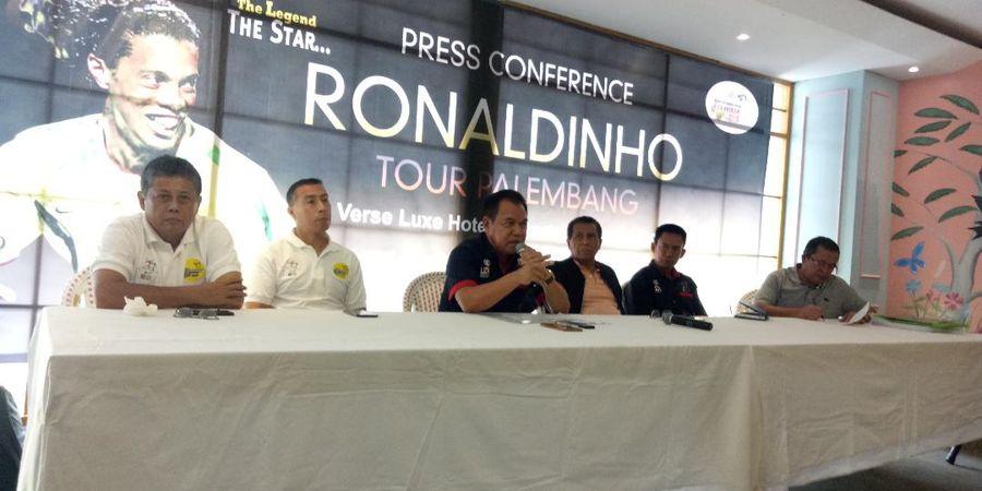Gubernur Sumatera Selatan Bantah Isu Dirinya Larang Ronaldinho Datang ke Palembang