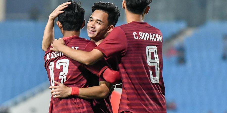 Kualifikasi Piala Asia U-23 2020 - Thailand Bantai Brunei, Asa Indonesia Terjaga