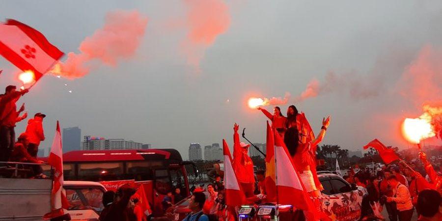 Video Fan Vietnam Tunjukan Keakraban dengan Suporter Indonesia