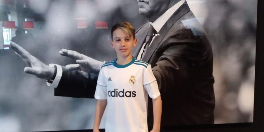 VIDEO - Juggling Bola Tenis 198 Kali, Bocah 13 Tahun Dibidik Real Madrid