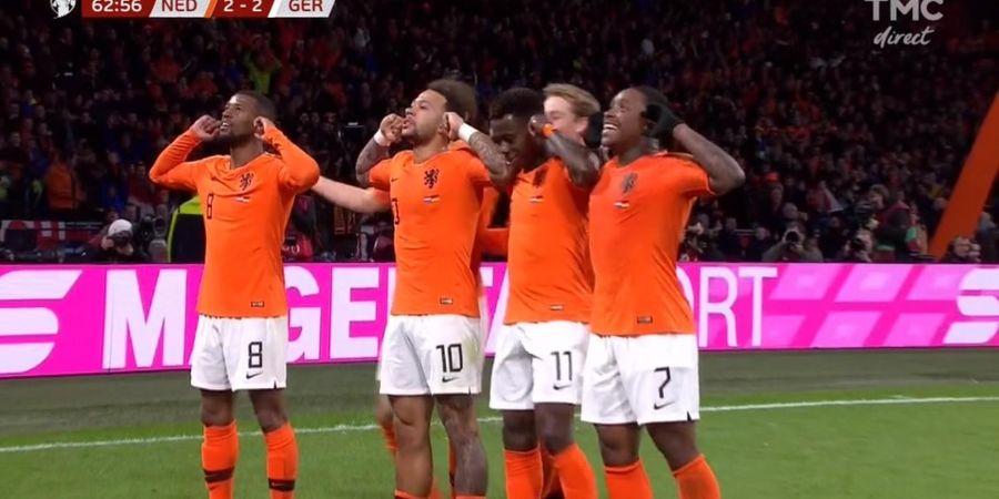 Taktik Bocor, Timnas Belanda Gagal Menang dari Timnas Jerman