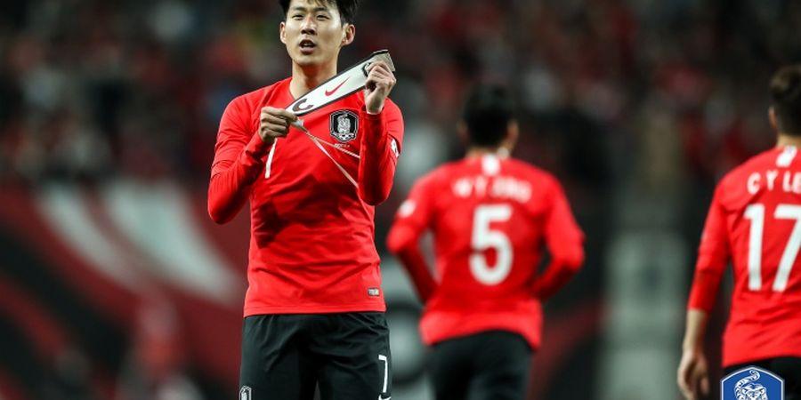 Son Heung-Min Cetak Gol, Timnas Korea Selatan Bungkam Kolombia