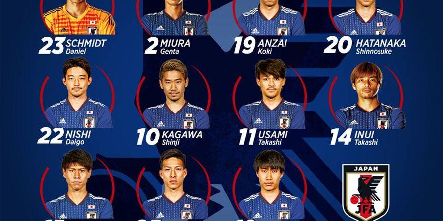 Timnas Jepang Menang, yang Jadi Pahlawan Pemain Milik Klub Liga Qatar