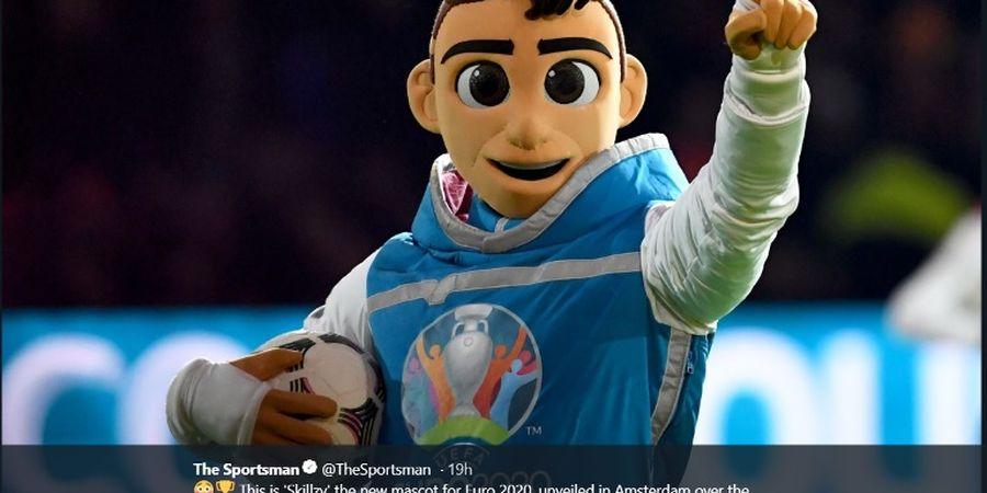Kurang Keren dan Mata Juling, Maskot Piala Eropa 2020 Banjir Cibiran