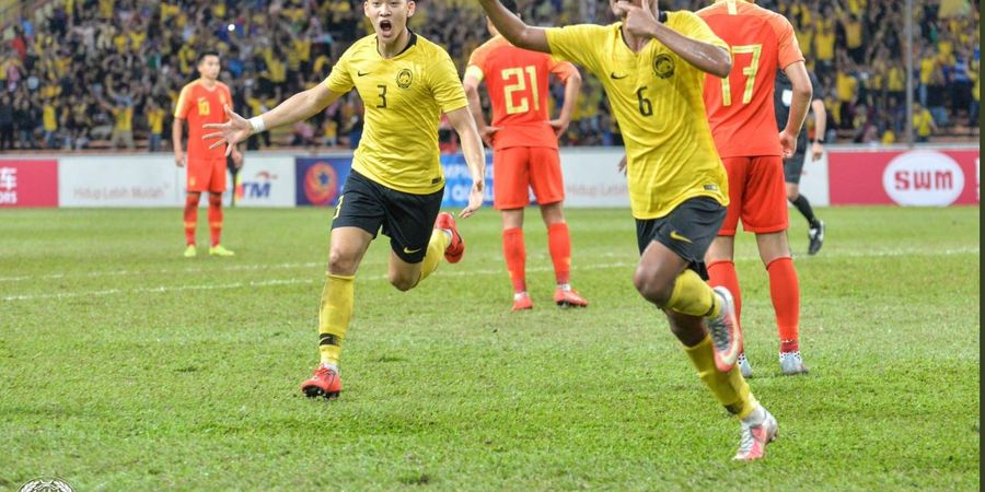 Hasil Kualifikasi Piala Asia U-23 - Malaysia Imbangi China, tapi Tetap Gugur