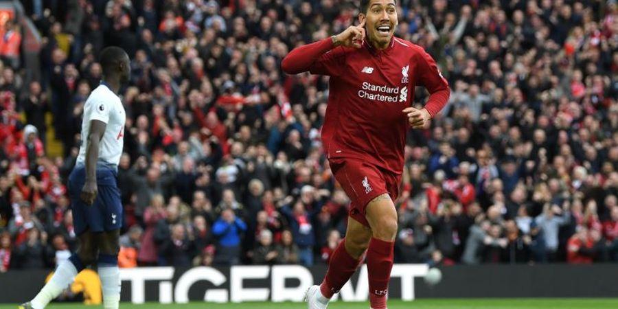 VIDEO - Sundulan Ciamik Roberto Firmino Bawa Liverpool Bobol Tottenham