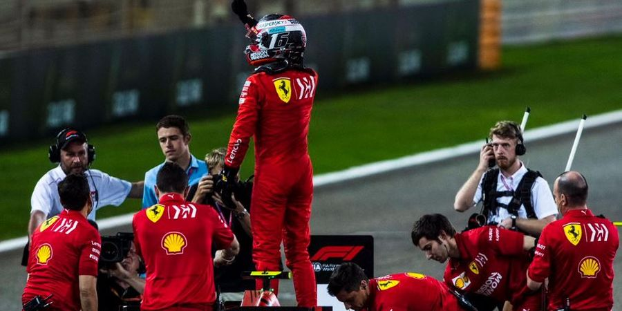 Team Order Ferrari di GP China Bikin Charles Leclerc Kecewa