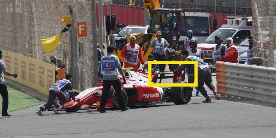 Alami Kendala Teknis, Sean Gelael Gagal Finis pada Balapan Pertama Formula 2 Bahrain