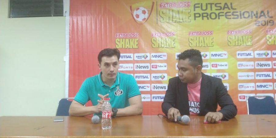 Kalah dari Vamos FC Mataram, Pelatih Black Steel Kecam Keputusan Wasit