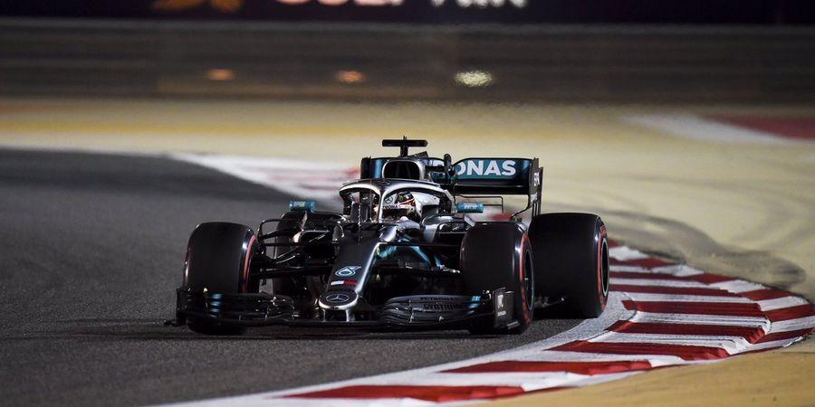Hasil F1 GP Bahrain 2019 - Duo Ferrari Ketiban Sial, Lewis Hamilton Jadi Pemenang