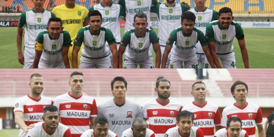 Laga Piala Indonesia Antara Persebaya Vs Madura United Ditunda