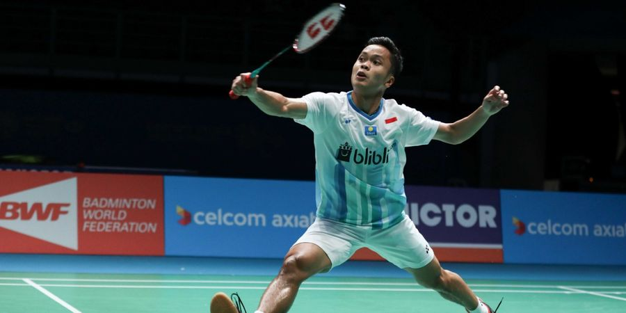 Hasil Singapore Open 2019 - Anthony Susul Langkah Jonatan Christie