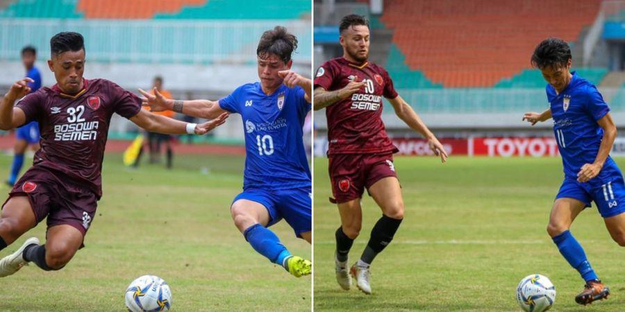 PSM Makassar dan Kaya FC Bermain Imbang di Babak Pertama Laga Piala AFC 2019