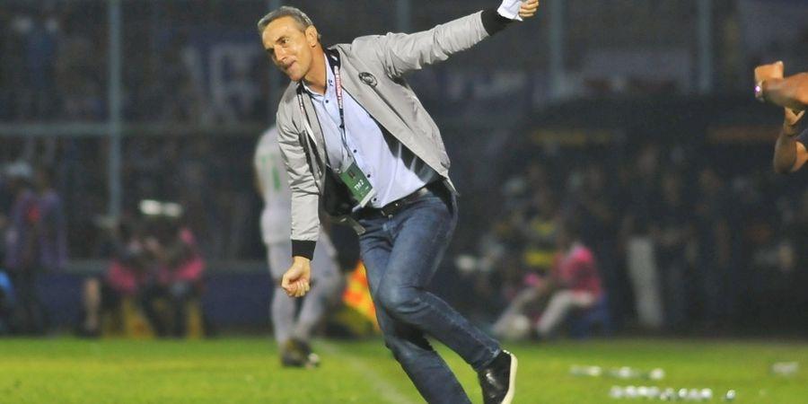 Jamu Persela, Milomir Seslija Isyaratkan Kebangkitan dari Arema FC