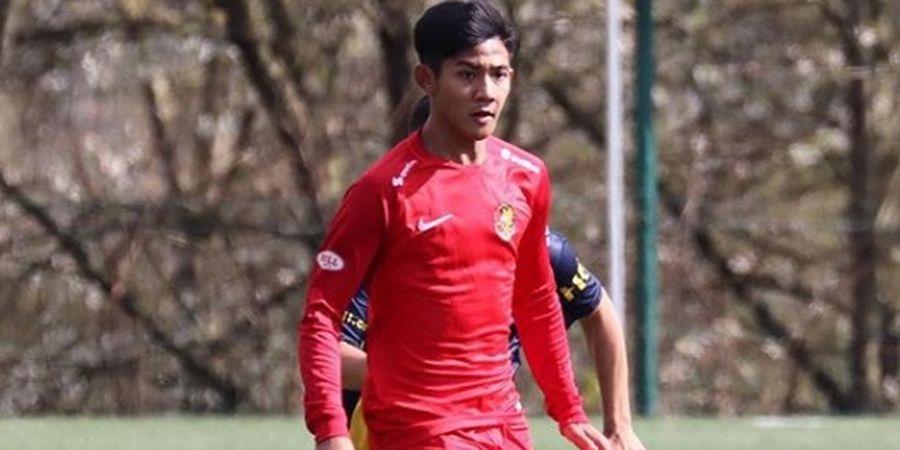 Cetak Dua Gol ke Gawang Barcelona, Firza Andika Buka Peluang ke  Tim Utama AFC Tubize