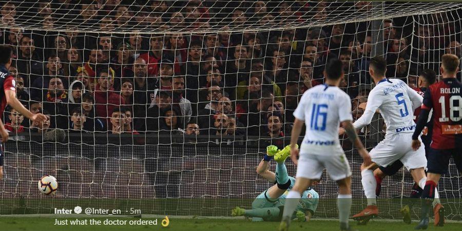 Hasil Liga Italia - 1 Gol dan 1 Assist Icardi Persembahkan Kemenangan bagi Inter