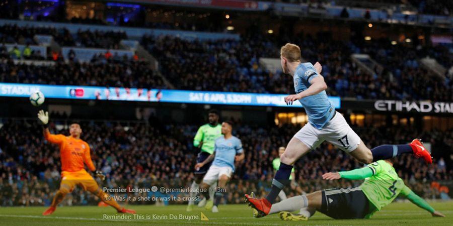 Gol Sulit Kevin De Bruyne Bantu Manchester City Ungguli Cardiff City