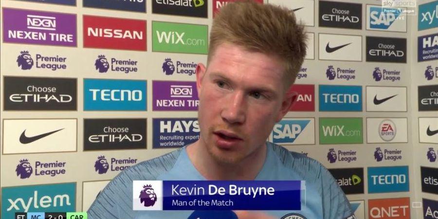 Tekad Kuat Kevin De Bruyne yang 4 Kali Menepi dari Skuat Man City
