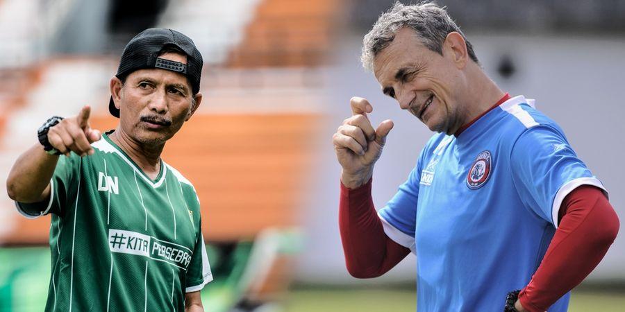 Djadjang Nurdjaman Dipastikan Bakal Dampingi Persebaya Hadapi Arema FC