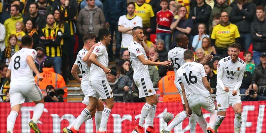 Semifinal Piala FA - Wolves Unggul 1-0 atas Watford pada Babak Pertama