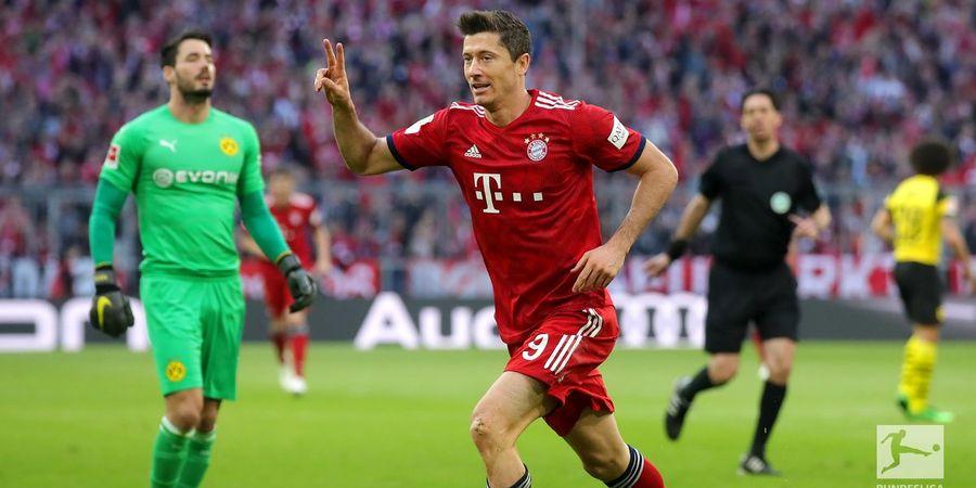 Hasil Liga Jerman - Tenggelamkan Dortmund, Bayern Muenchen ke Puncak