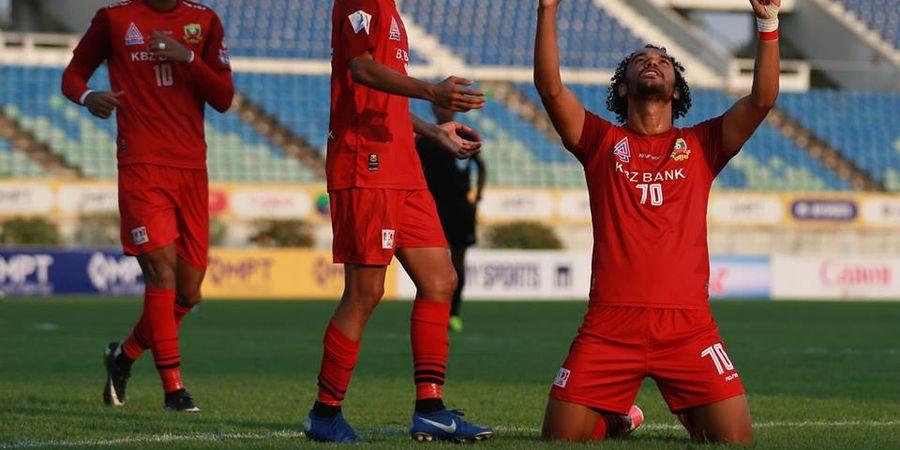 Gol Eks Pilar Persela Buat Klubnya Jadi Penguasa Liga Myanmar 2019