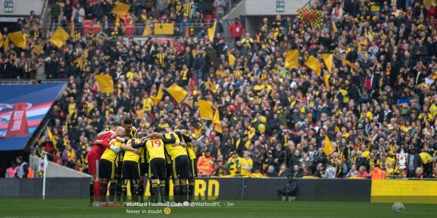 Hasil Piala FA - Comeback Dramatis, Watford Tantang Man City di Final