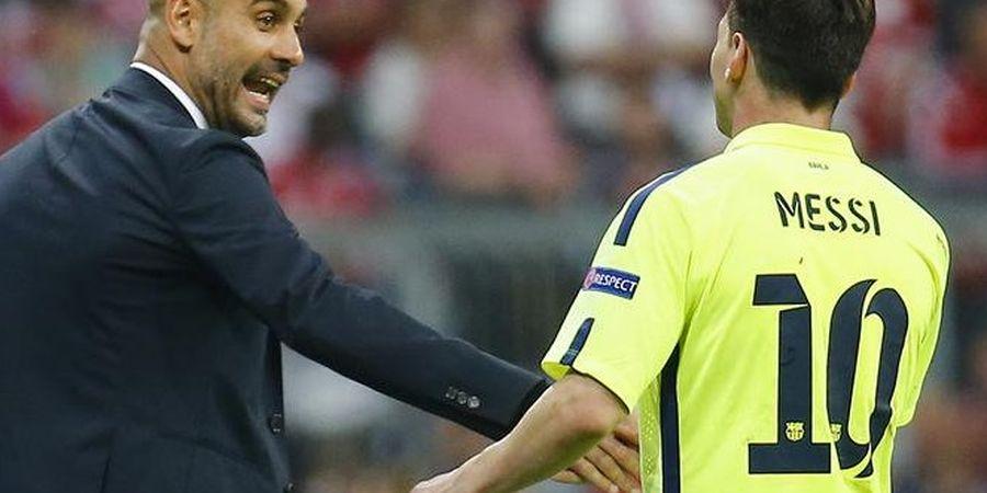 Tanpa Messi, Guardiola Diprediksi Takkan Pernah Menangi Liga Champions