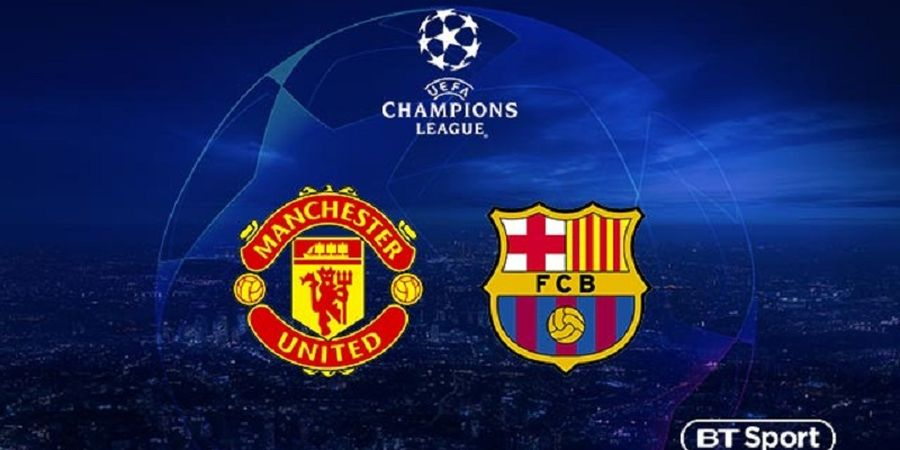 Link Streaming Manchester Vs United Barcelona, Leg 1 Perempat Final Liga Champions
