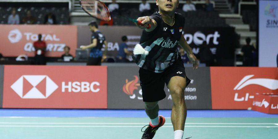 Singapore Open 2019 - Jumpa Chen Long, Anthony Tak Mau Anggap Remeh