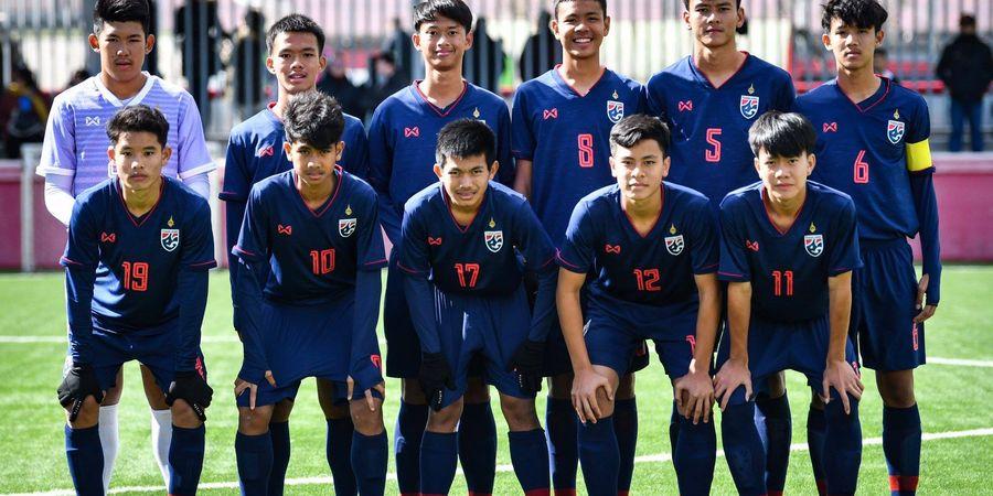 Usai Digilas Barcelona, Timnas U-15 Thailand Ditekuk Atletico Madrid