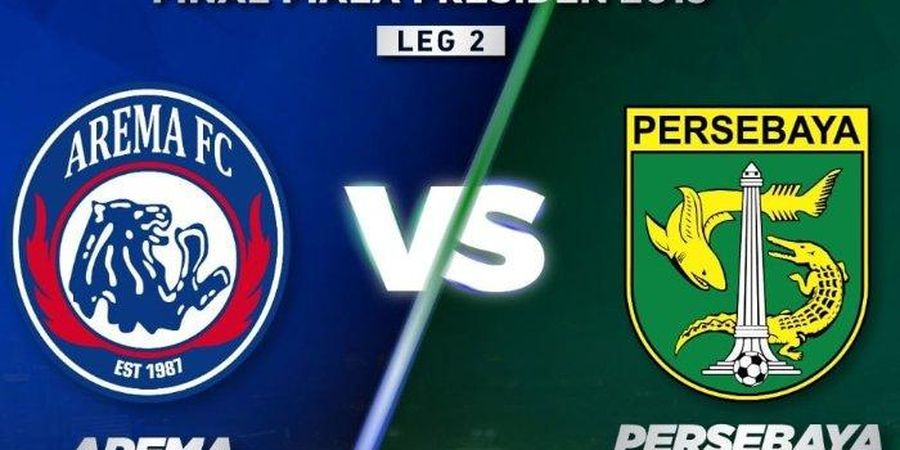 Link Live Streaming Arema FC Vs Persebaya di Final Piala Presiden 2019