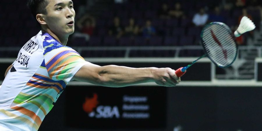 Hasil New Zealand Open 2019 - Jonatan Christie Kandaskan Wakil China