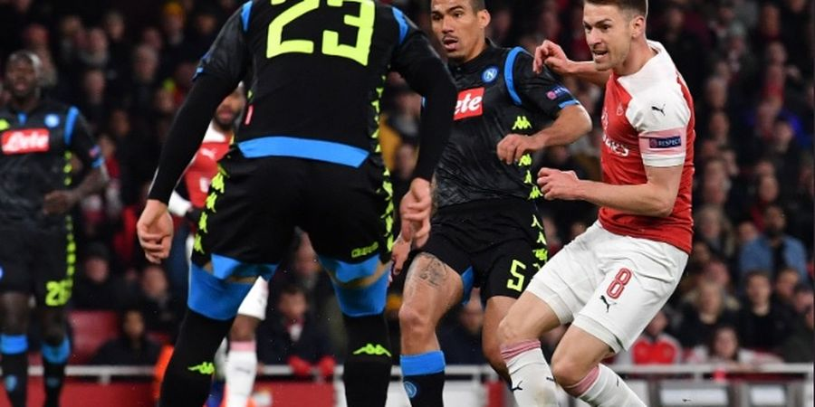 Live Streaming RCTI Napoli Vs Arsenal - Tamu Selangkah di Depan