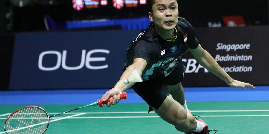 Hasil New Zealand Open 2019 - Anthony Ginting Disingkirkan Lin Dan