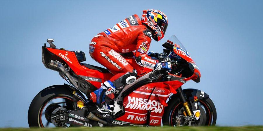Berita MotoGP - Dovizioso Bisa Puncaki Klasemen, Bos Ducati Tak Sangka